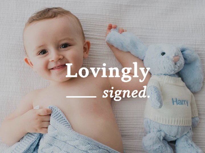 Lovingly Signed